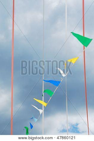 Bunting Flags In Ligosullo