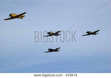 Squadron Of Four