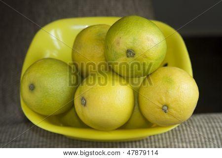 Tray Of Sweet Lemons