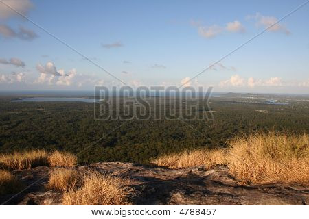 View Of Noosa From Mount Cooroy