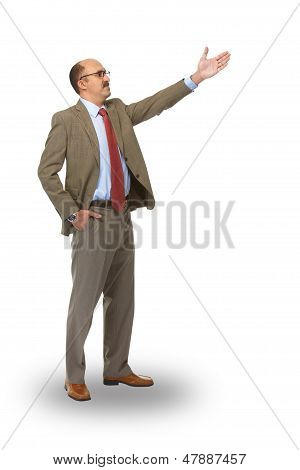 Businessman And Direction