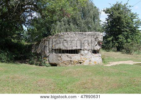 Ersten Weltkrieg Bunker oder Bunker Hill 60, Belgien