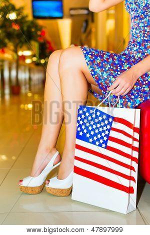 Mulher com Shoppingbag