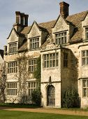 stock photo of manor  - Traditional English manor house in England UK - JPG
