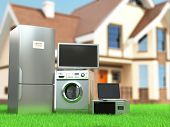 foto of refrigerator  - Home appliances - JPG