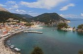Parga summer resort in Greece