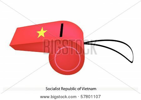 A Whistle Of Socialist Republic Of Vietnam