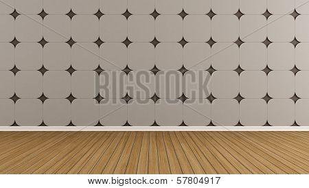 Brown Enpty Room