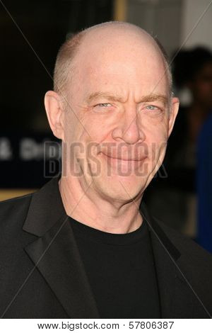 J.K. Simmons  at the Los Angeles Premiere of 'I Love You, Man'. Mann's Village Theater, Westwood, CA. 03-17-09
