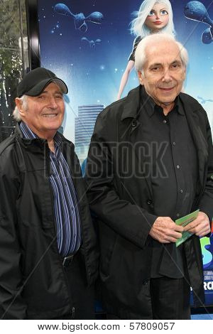 Sid Kroft and Marty Kroft  at the Los Angeles Premiere of 'Monsters Vs. Aliens'. Gibson Amphitheatre, Universal City, CA. 03-22-09