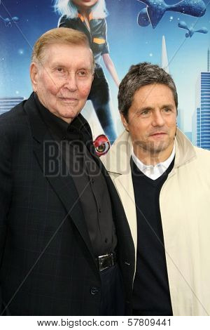 Sumner Redstone and Brad Grey at the Los Angeles Premiere of 'Monsters Vs. Aliens'. Gibson Amphitheatre, Universal City, CA. 03-22-09