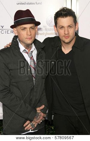Benji Madden and Joel Madden at the Sony Cierge and The Richie-Madden Children's Foundation UNICEF Benefit. Myhouse, Los Angeles, CA. 03-23-09