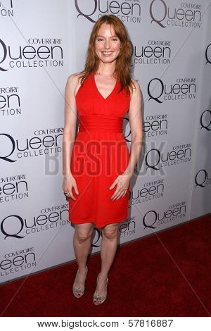 Alicia Witt  at Queen Latifah's Birthday Party presented by Cover Girl Queen Collection. Club Light, Hollywood, CA. 03-28-09