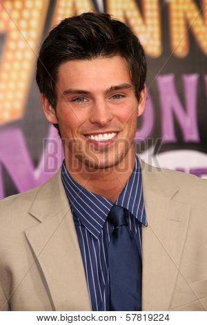 Adam Gregory at the Los Angeles Premiere of 'Hannah Montana The Movie'. El Capitan Theatre, Hollywood, CA. 04-02-09