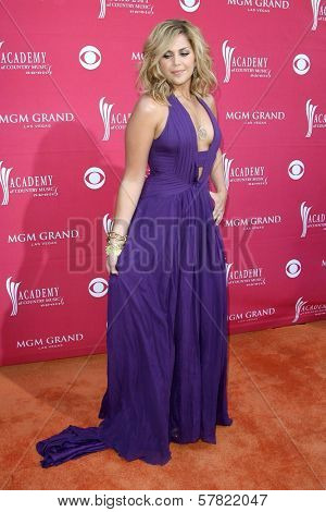 Hillary Scott at the 44th Annual Academy of Country Music Awards. MGM Grand Garden Arena, Las Vegas, NV. 04-05-09