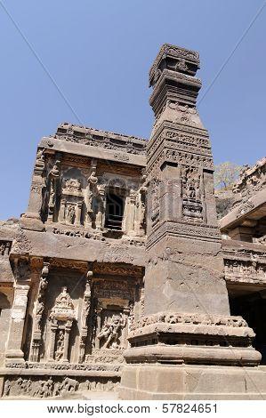 India, Ellora Buddhist Cave
