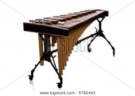 Marimba On White