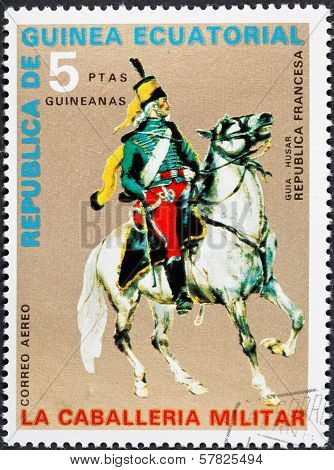 Hussar Officer Of French Republic