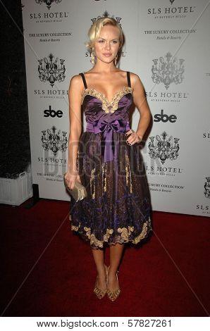 Anya Monzikova   at the Grand Opening of SLS Hotel. SLS Hotel, Los Angeles, CA. 12-04-08