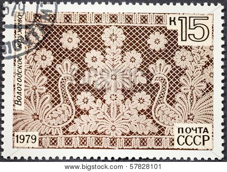 Old Russian Vologda Lace