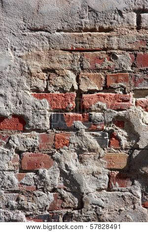 Stucco and Brick Textures Vertical