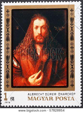 Painting Albrecht Durer Self Portrait