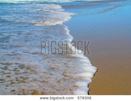 die Linie der Meer
