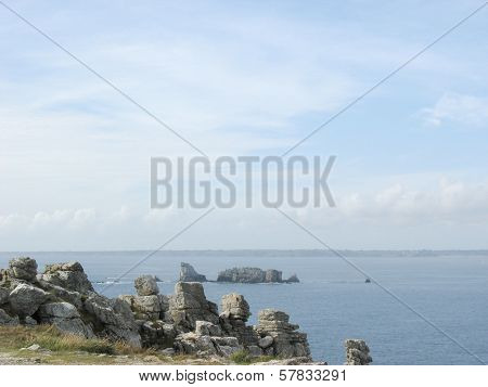 Pointe De Penhir Et Du Toulinguet In Brittany