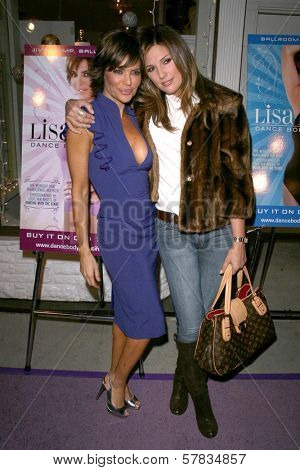 Lisa Rinna and Daisy Fuentes   at the launch party for 'Dance Body Beautiful' series of DVDs by Lisa Rinna. Belle Gray, Sherman Oaks, CA. 12-09-08