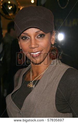 Holly Robinson Peete   at the launch party for 'Dance Body Beautiful' series of DVDs by Lisa Rinna. Belle Gray, Sherman Oaks, CA. 12-09-08