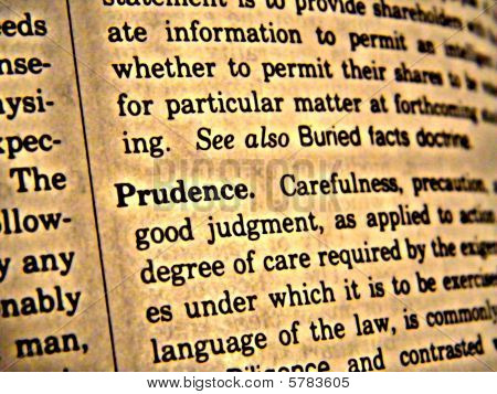 Dictionary Prudence