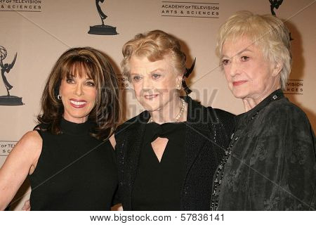 Kate Linder with Angela Lansbury and Bea Arthur   at the Academy of Television Arts & Sciences Hall of Fame Ceremony. Beverly Hills Hotel, Beverly Hills, CA. 12-09-08