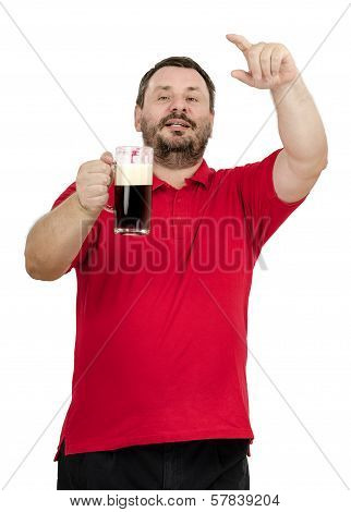 One More Beer -  Says Bearded Man