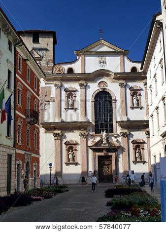St. Francis Xavier Church And Jesuit, Trentino