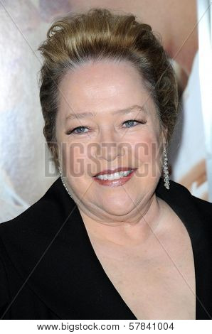 Kathy Bates   at the World Premiere of 'Revolutionary Road'. Mann Village Theater, Westwood, CA. 12-15-08