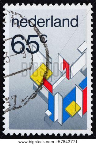 Postage Stamp Netherlands 1983 Modern Art Movement
