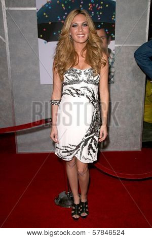 Jasmine Dustin   at the Los Angeles Premiere of 'Bedtime Stories'. El Capitan Theatre, Hollywood, CA. 12-18-08