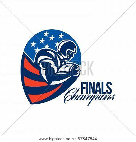 American Football Finals Champions Retro