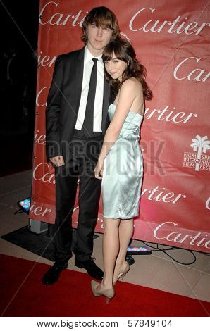 Paul Dano and Zoe Kazan  at the Palm Springs Film Festival Gala. Palm Springs Convention Center, Palm Springs, CA. 01-06-09