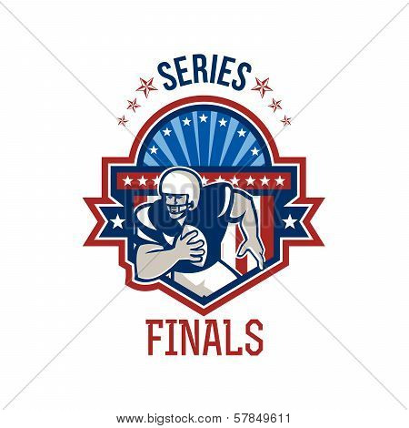 American Football Qb Series Finals Crest