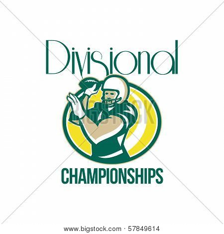 American Football Qb Divisional Championships Retro