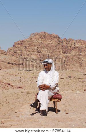 Portrait of bedouin man