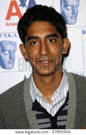 Dev Patel  at BAFTA-LA's 15th Annual Awards Season Tea Party. Beverly Hills Hotel, Beverly Hills, CA. 01-10-09