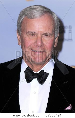 Tom Brokaw in the press room at the 66th Annual Golden Globe Awards. Beverly Hilton Hotel, Beverly Hills, CA. 01-11-09