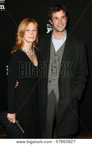 Tracy Warbin and Noah Wyle at the 24th Santa Barbara Film Festival Opening Night Screening of 'Nothing But the Truth'. Arlington Theatre, Santa Barbara, CA. 01-22-09