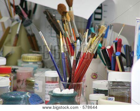 A Potter 's Studio Tools