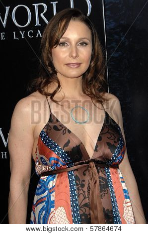 Elle Travis at the World Premiere of 'Underworld Rise of the Lycans'. Arclight Hollywood, Hollywood, CA. 01-22-09