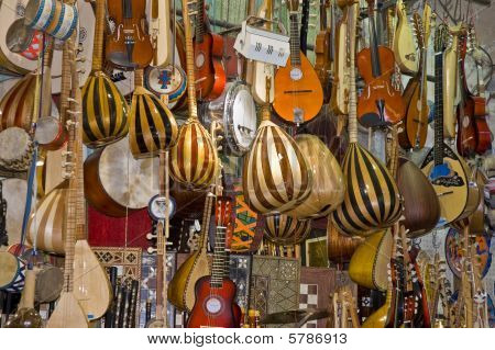 Music Instruments Shop.