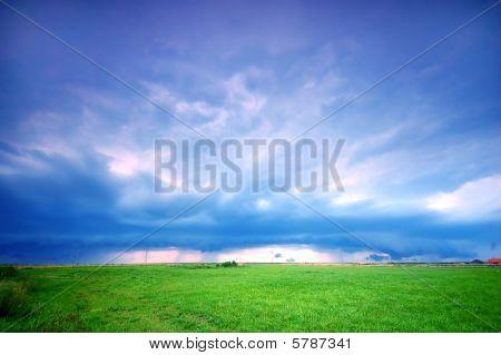 Stormy Landschaft