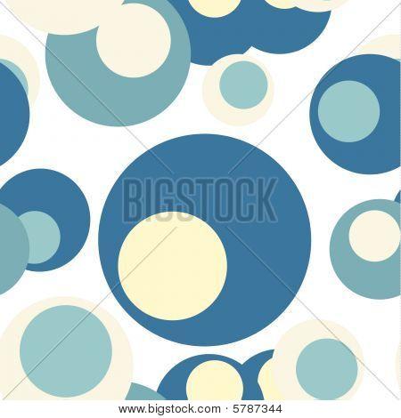 Seamless Background Retro Circle Patern